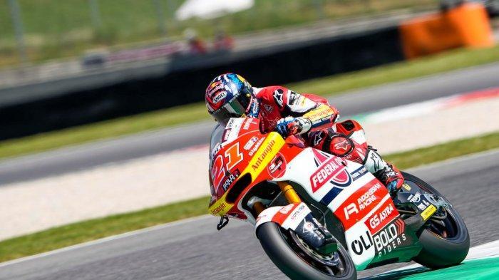 Pebalap Federal Oil Gresini Moto2 Fabio Di Giannantonio.