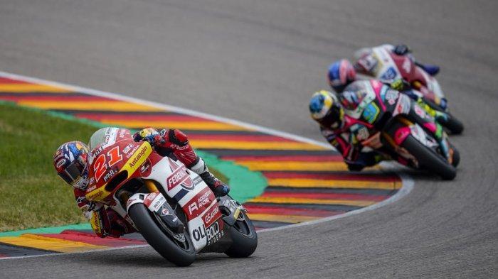 Dua Pebalap Federal Oil Gresini Moto2 Amankan Poin Penting di Moto2 Jerman
