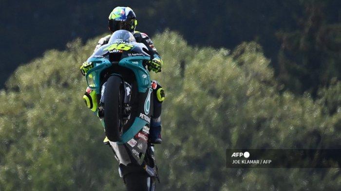 Impian Valentino Rossi Ingin Dikenang sebagai Pahlawan Layaknya Legenda Napoli dan Barcelona