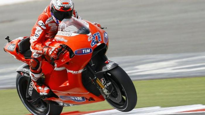 Pebalap MotoGP Casey Stoner.