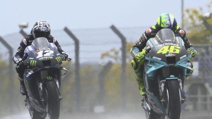 Keputusan yang Berujung Penyesalan Valentino Rossi di Motogp Prancis 2021