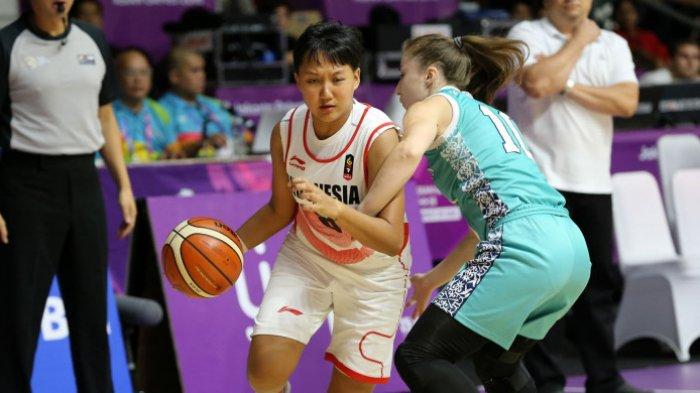 Kalah Lagi, Kali Ini Timnas Putri Basket Indonesia Dibekuk  Kazakhstan: Peluang Lolos Makin Berat