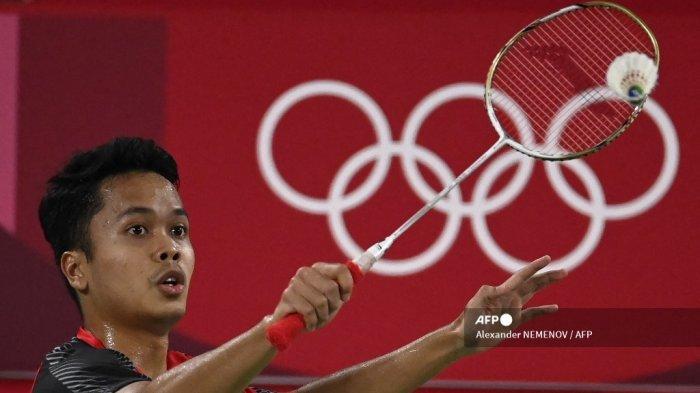 Bulutangkis Olimpiade: Anthony Ginting Wajib Waspada Efek Kekalahan Kento Momota