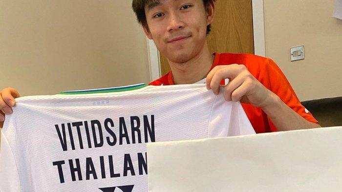 Kunlavut Vitidsarn, Sang Pebulu Tangkis Masa Depan Thailand, Peraih Hattrick Juara Dunia Junior