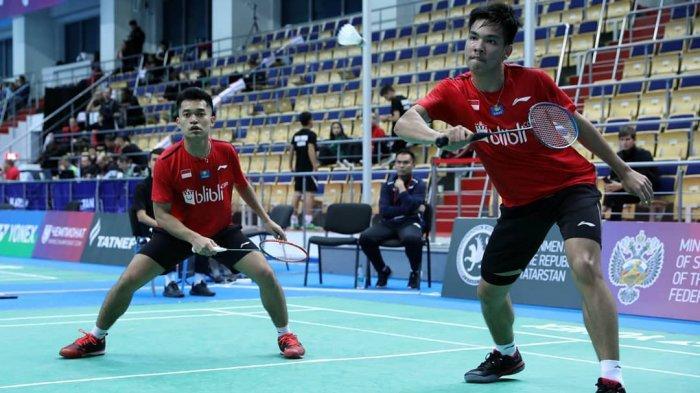 SEDANG BERLANGSUNG Live streaming TVRI Thailand Open, Leo/Daniel vs Wakil Denmark