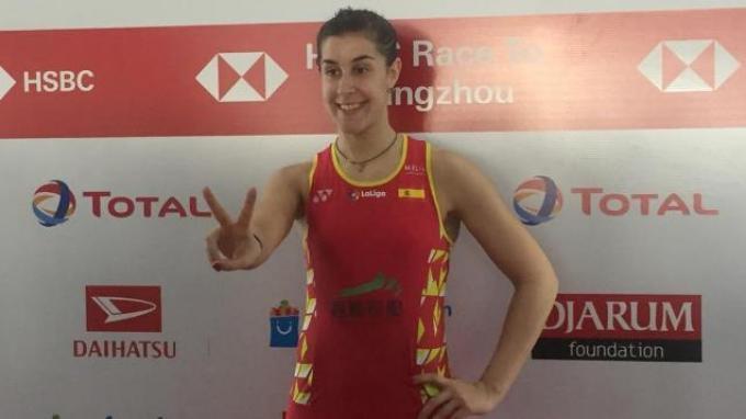 Kalah dari Ratchanok di Final, Carolina Marin Siap Balas di Thailand Masters 2020