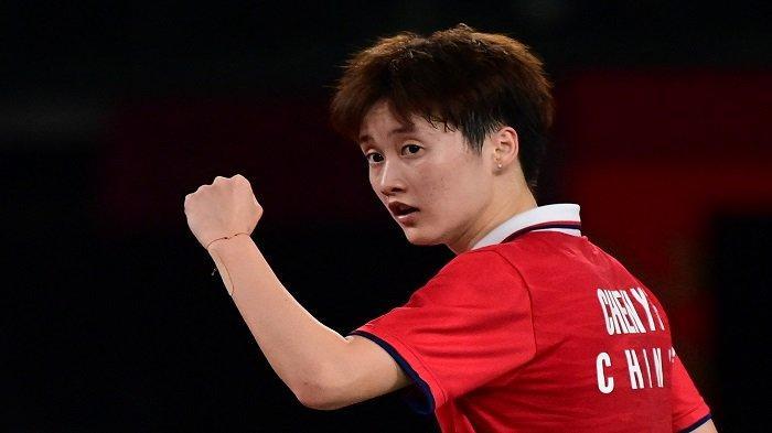 Hasil Final Tunggal Putri Bulutangkis Olimpiade 2021, Chen Yufei Raih Emas dan Sejarah P.V Sindhu