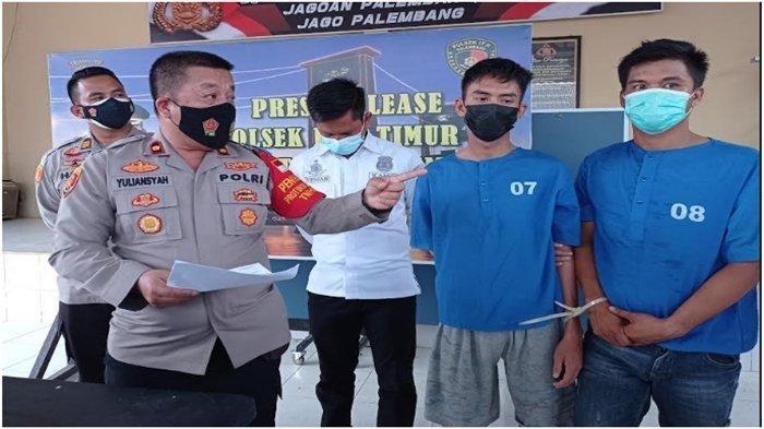 Modal KTA, Oknum Pecatan Polisi Minta Uang Damai ke Sopir Truk di Palembang