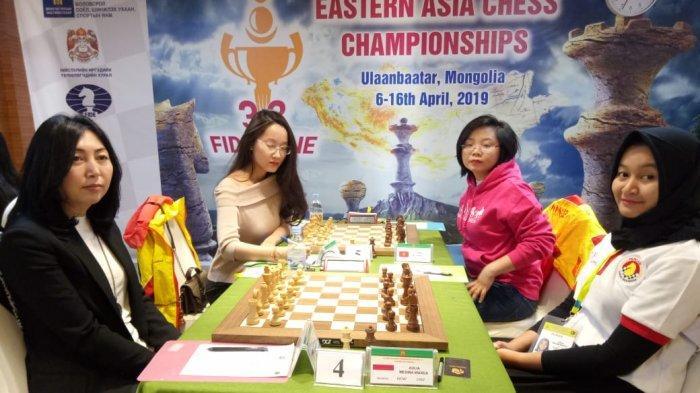 Tanding Hari Pertama di Mongolia, Indonesia catat 3 menang, 2 remis, dan 1 kalah