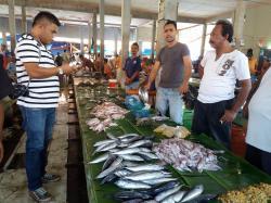 Udang Tiger Primadona Pasar Tradisional Kota Juang