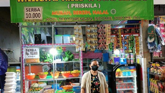 Pedagang Terminal Pulo Gebang Mengeluh Sepi Pembeli: Makanan jadi Basi