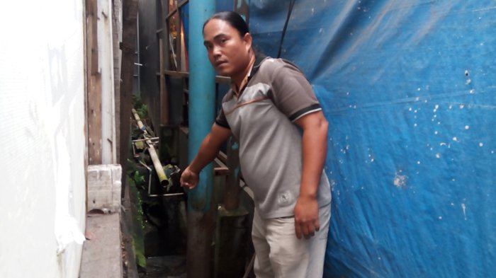 Para Pedagang Kaget Temukan Jasad Bayi di Samping Kampus ITM
