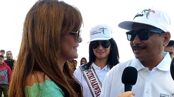Pedangdut Irma Dharmawangsa Wawancarai Menteri Arief Yahya: Awalnya Kaget