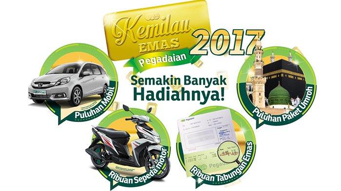 Apresiasi Nasabah, Pegadaian Bagikan Mobil Hingga Tabungan Emas 250 Gram