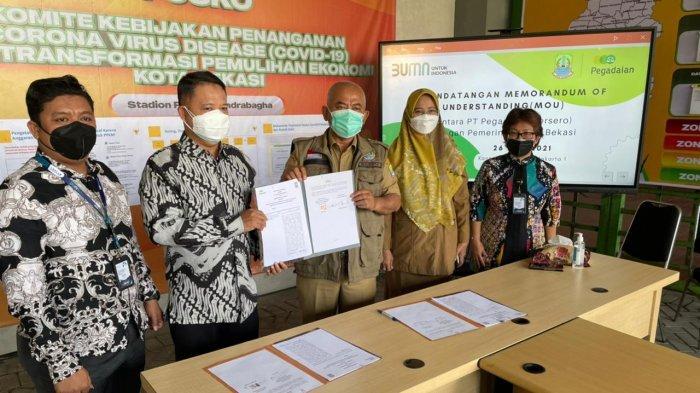 Pegadaian Kanwil VIII Jakarta 1 Siapkan Pembiayaan Haji dan Investasi Emas untuk PNS Pemkot Bekasi