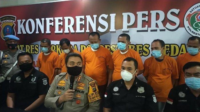 Tiga Pejabat Aceh Tenggara yang Diamankan Saat Pesta Sabu datang ke Medan untuk Jenguk Istri Bupati