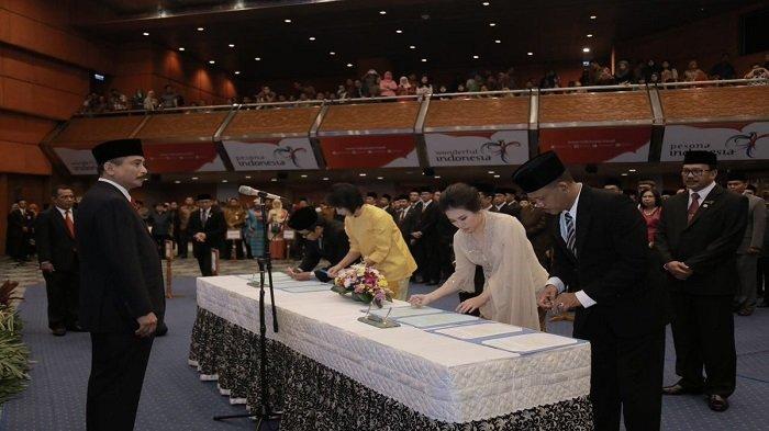 Lantik Pejabat Baru, Menpar Arief Yahya Tunggu Actions 100 Hari