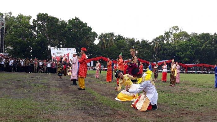 Nusantara Bernyanyi Hebohkan PKNRM Ke-2 di Sulut