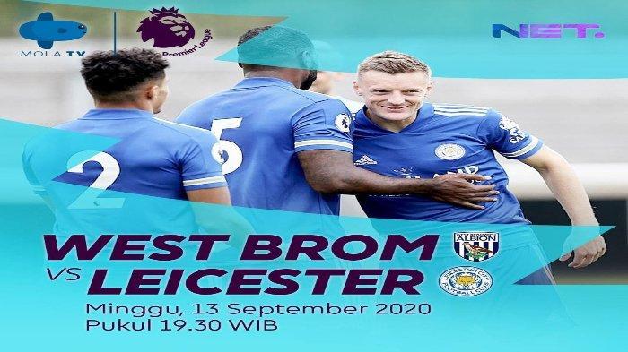 Jadwal Liga Inggris Malam Ini West Brom Vs Leicester Tottenham Vs Everton Live Net Tv Mola Tv Tribunnews Com Mobile