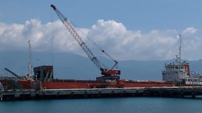 Pelabuhan Pantoloan, Palu, Sulawesi Tengah, menjadi satu di antara beberapa infrastruktur transportasi yang akan ditinjau Menteri Perhubungan Budi Karya Sumadi pada Sabtu (10/8/2019).