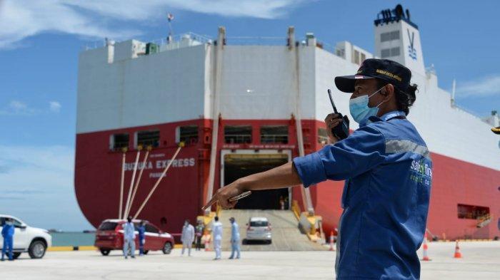 Mulai Beroperasi, Pelabuhan Patimban Langsung Layani Ekspor Perdana