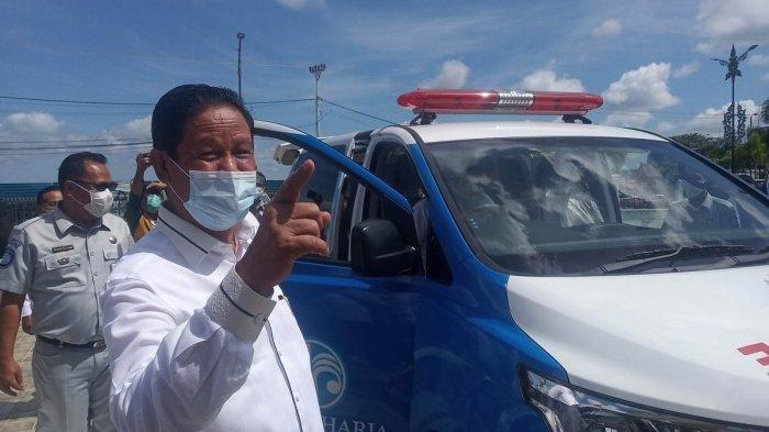 Pelaksana Tugas (Plt) Gubernur Kepri, Isdianto menegaskan Kepri tidak memberlakukan karantina wilayah terkait wabah virus Corona.