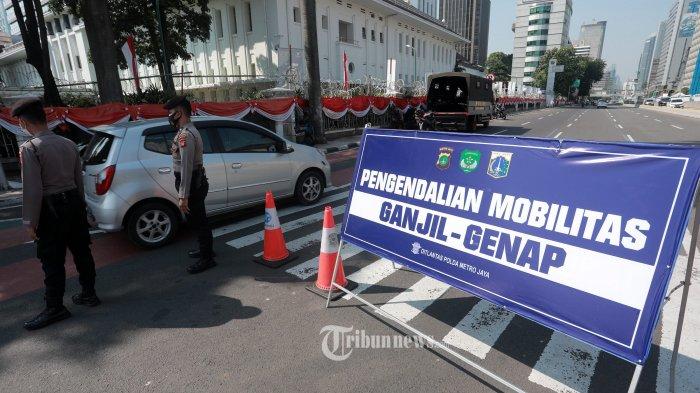 Mulai Hari Ini Pelanggar Aturan Ganjil-Genap di Jakarta Akan Dapatkan Sanksi Tilang