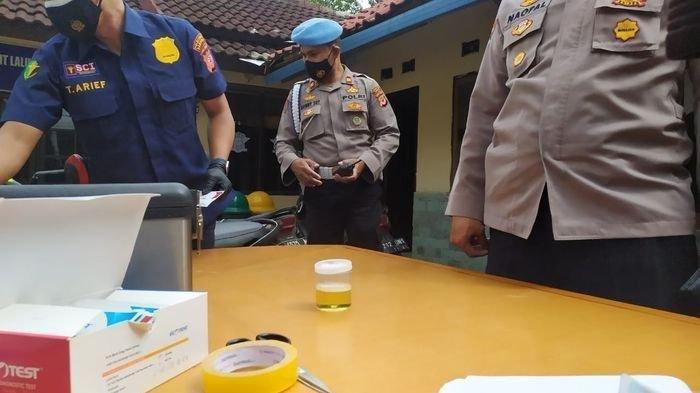 Sidak Gabungan, Polda Jambi Temukan 7 Anggota Positif Narkoba Usai Jalani Tes Urine