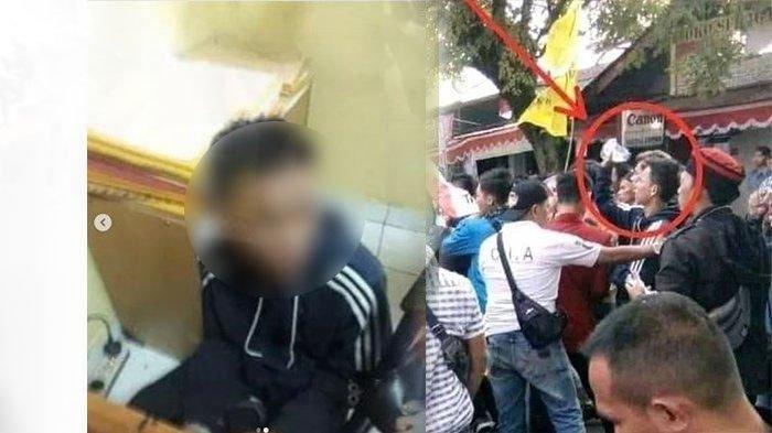 Rs Mahasiswa Universitas Surya Kencana Tersangka Pelempar Bensin Hingga 4 Polisi Terbakar