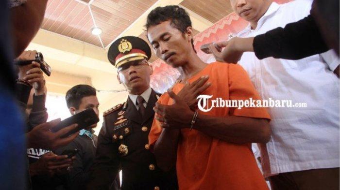 Begini Detik-detik Polisi Tangkap Pelaku yang Bunuh dan Bakar Jasad Kekasihnya