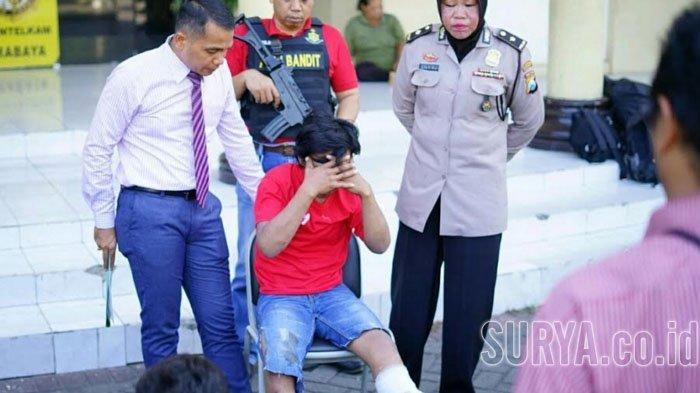 Pelaku Curas di Surabaya Ini Ditangkap Saat Kencan di Dekat Jembatan Petekan