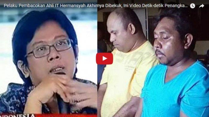 Trauma karena Dibacok, Ahli IT Hermansyah Kini Tinggal di Safe House yang Dijaga Anggota TNI