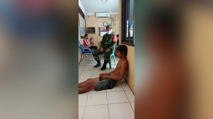 Usai Membunuh Ayah, Pria di HST ini Tunggui Jasadnya Hingga Sang Ibu Datang