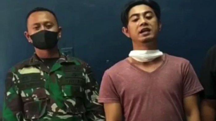 Penyebar Video Hoaks TNI Kerahkan Tank Untuk Penyekatan Mudik Minta Maaf, Ini Pengakuannya