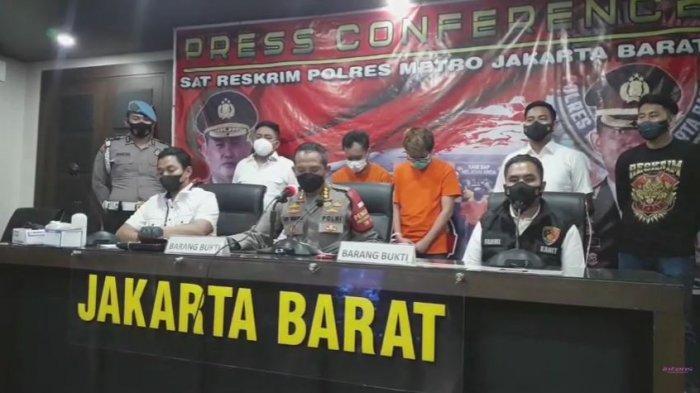 Kapolres Jakarta Barat Kombes Pol Ady Wibowo berhasil meringkus pelaku penyebar video syur mirip Gabriella Larasati alias GL.