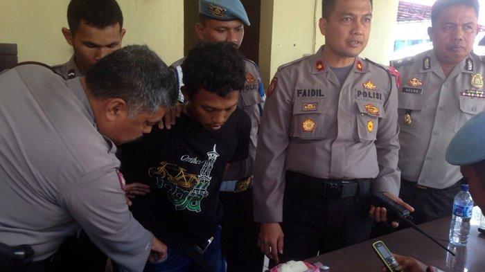 Pengunjung Tahanan Kepergok Selipkan Paketan Sabu di dalam Roti