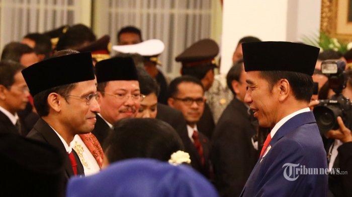 Satu Kursi Wamen Masih Kosong, Jokowi Belum Putuskan Siapa Pendamping Nadiem Makarim