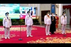Presiden Jokowi Lantik Gubernur-Wagub Kaltara dan Sulut di Istana Negara