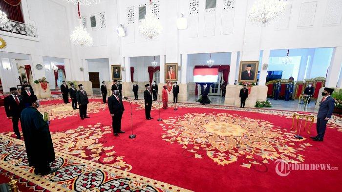 Prabowo Dibayangi Menteri Baru, 2 Menteri Kabinet Jokowi Melesat Saingi Menteri Lawas