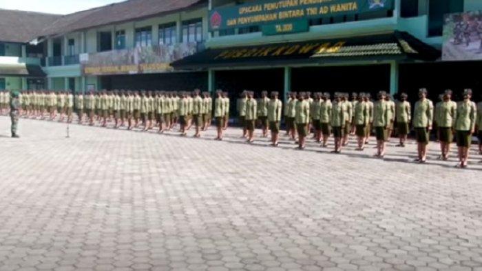 Pesan Komandan Kodiklatad Saat Melantik 221 Prajurit Siswa Dikmaba TNI AD Wanita di Pusdik Kowad