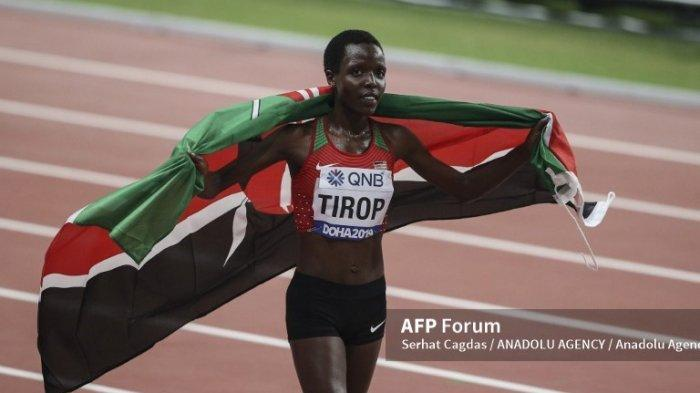 Pelari jarak jauh Kenya, Agnes Tirop ditemukan tewas di rumahnya pada Rabu (13/10/2021).