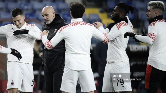 JADWAL Live Streaming AC Milan vs Lazio, Misi Pioli Pertahankan Unbeaten Rossoneri, Live RCTI