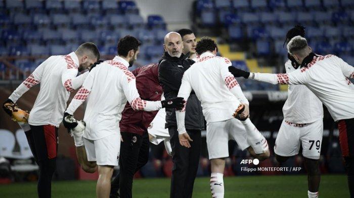 LIVE Streaming TV Online AC Milan vs Red Star Belgrade Liga Eropa, Kick Off Pukul 03.00 WIB