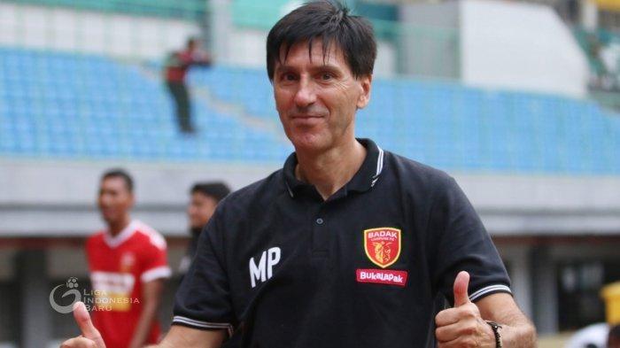 Pelatih Badak Lampung FC - Milan Petrovic