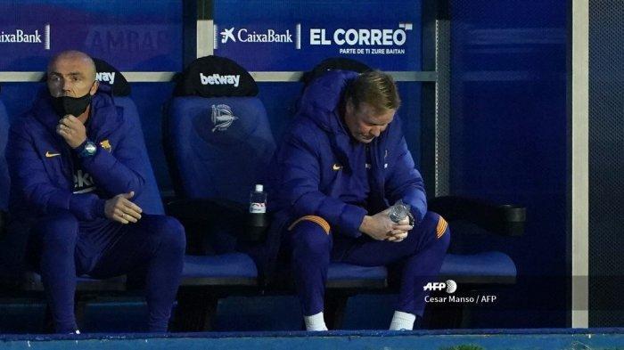 LIVE Streaming Sevilla vs Barcelona - Koeman Sempat Mimisan saat Dicerca 9 Pertanyaan Jelang Laga