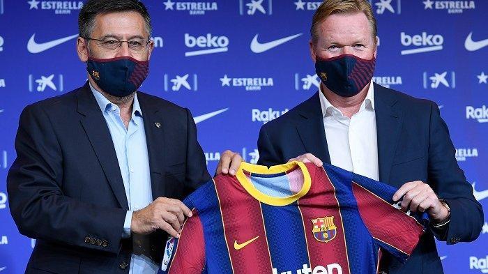 Hubungan Asmara Ronald Koeman dengan Barcelona Bak Disambut Badai Kencang