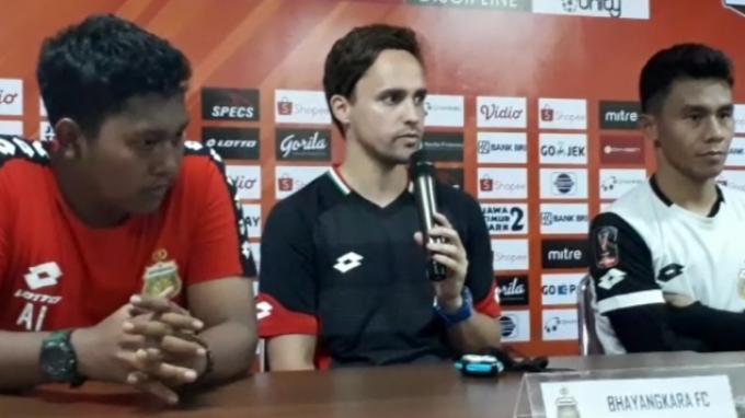 Pelatih Bhayangkara FC Akui Sudah Pelajari Permainan Persija Dari Empat Laga Sebelumnya