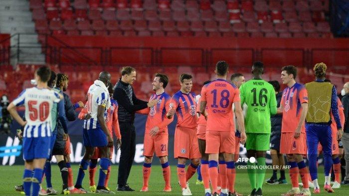 Hasil Liga Champions: Libas Porto 2 Gol Tanpa Balas, Tuchel Beberkan Suasana Ruang Ganti Chelsea