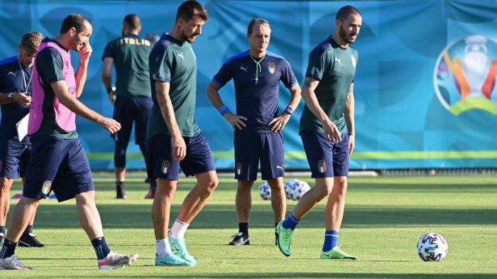 Saling Puji Roberto Mancini dan Luis Enrique, Prediksi Italia vs Spanyol Semifinal Euro 2021