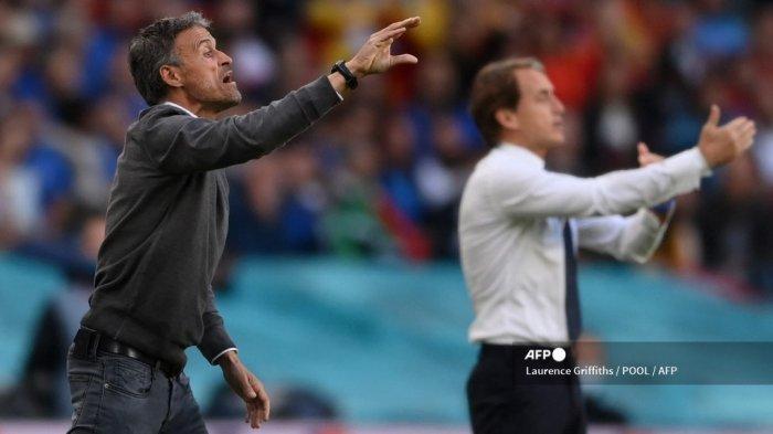 Hasil Babak 1: Saling Jual Beli Serangan, Italia dan Spanyol Masih Sama Kuat 0-0